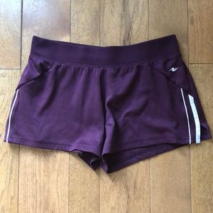 Athletic works small plum purple shorts small